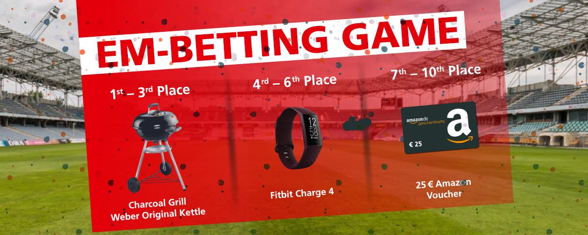 ESTA European Championship betting game 2021