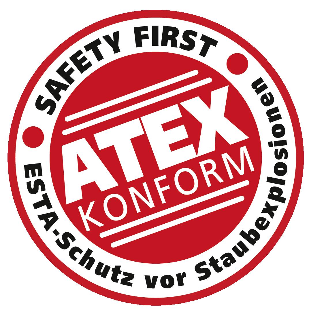 ESTA bietet ATEX Prüfzeichen.