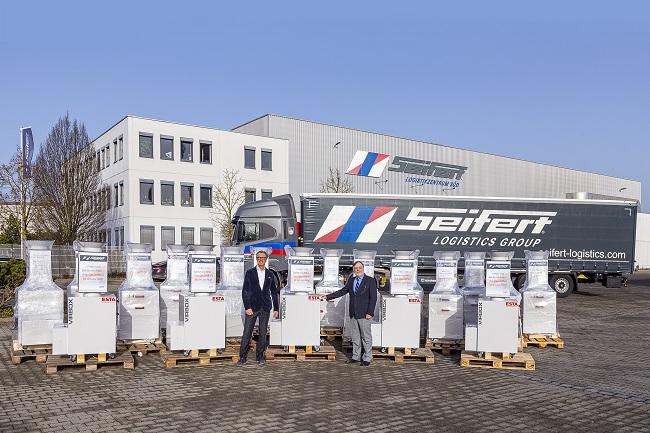 ESTA Luftreiniger bei der Seifert Logistics Group