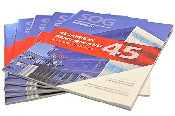 Das Unternehmensmagazin SOG berichtet über die Absaugtechnik von ESTA.