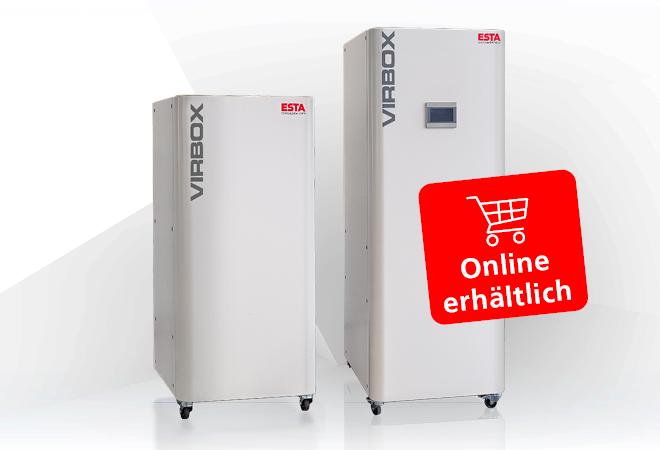 Luftreiniger VirBox® online erhältlich