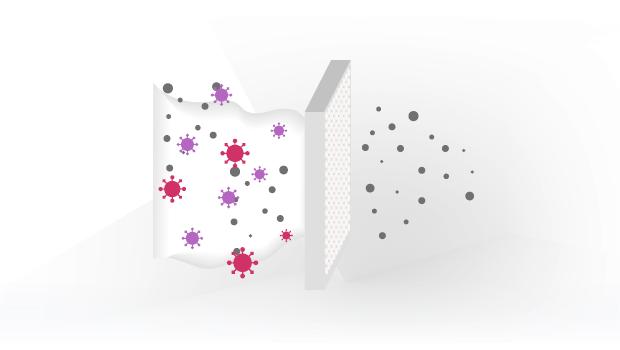 Bild von HEPA-Filter