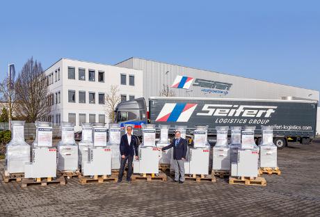 VirBox air purifier for Seifert Logistics Group