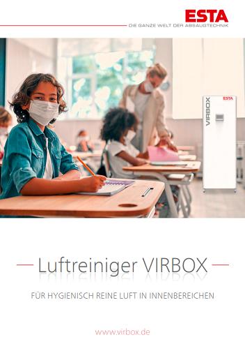 Titelseite VirBox-Flyer