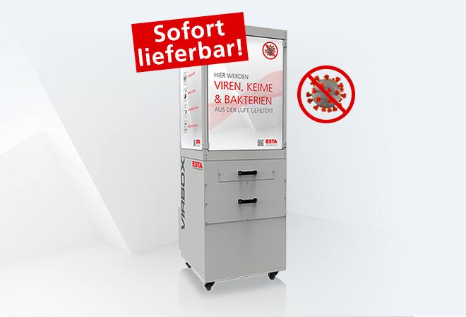 Luftreiniger VirBox von ESTA