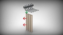 Die Filterabreinigung der COMPEX-Serie von ESTA.
