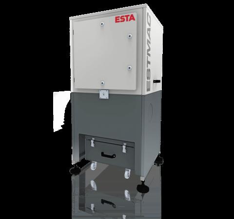 Der stationäre Entstauber ESTMAC D von ESTA.