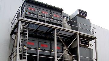 Die zentrale Absauganlage DUSTMAC hat geringe Betriebskosten.