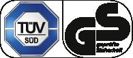 Die EUROSOG I-D Serie hat das TÜV-Prüfzeichen.