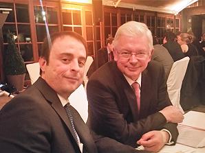 ESTA Gesellschafter Alexander Kulitz und Roland Koch.