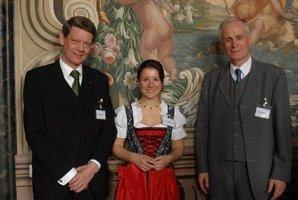 Herr Jakob, ESTA Gesellschafterin Jessica Kulitz und Herr Gardeik.
