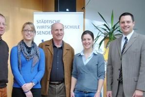 Jessica Kulitz und Philipp Raunitschke bei der WiSS.