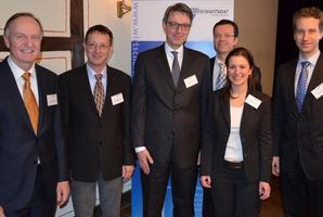 Der CDU-Wirtschaftsrat mit Sektionssprecherin Jessica Kulitz.