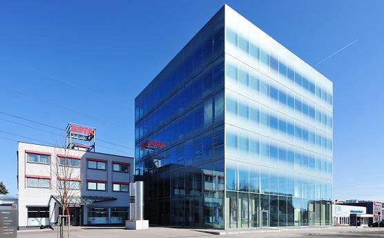 Das ESTA Vertriebs- und Montagezentrum nutzt modernste Technologien zur Ressourcenschonung.