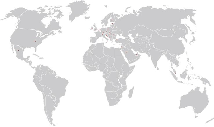 Die Internationalisierung von ESTA.