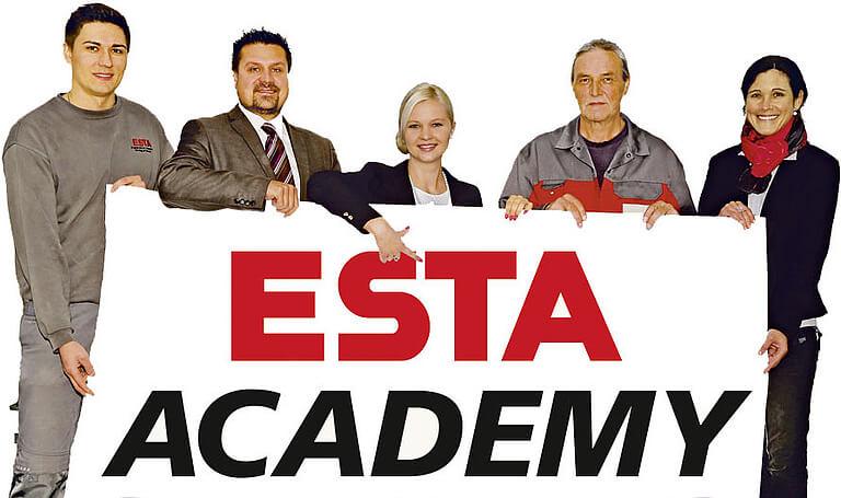 Die hausinterne Schulungseinrichtung: ESTA ACADEMY.