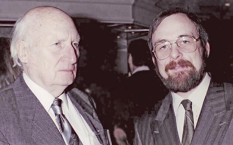 Günter und Peter Kulitz.
