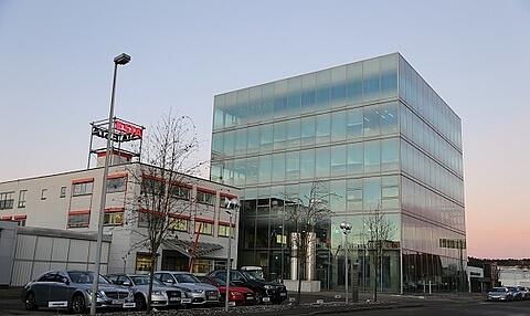 Das neue Vertriebs- und Montagezentrum von ESTA.