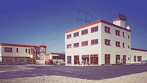 Das ESTA Firmengebäude 1989