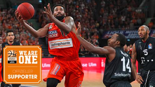 ESTA ist Supporter des Basketball-Bundesligisten Ratiopharm Ulm.