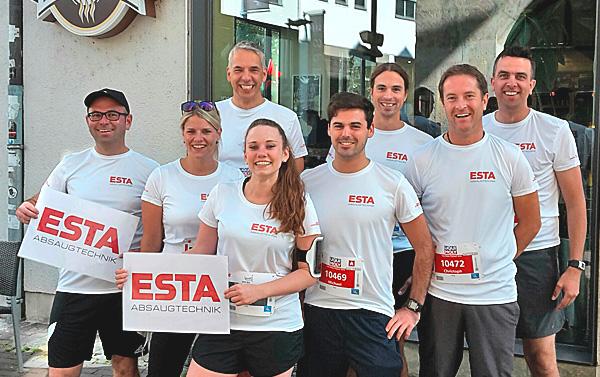 ESTA beim Ulmer Einstein-Marathon 2016.