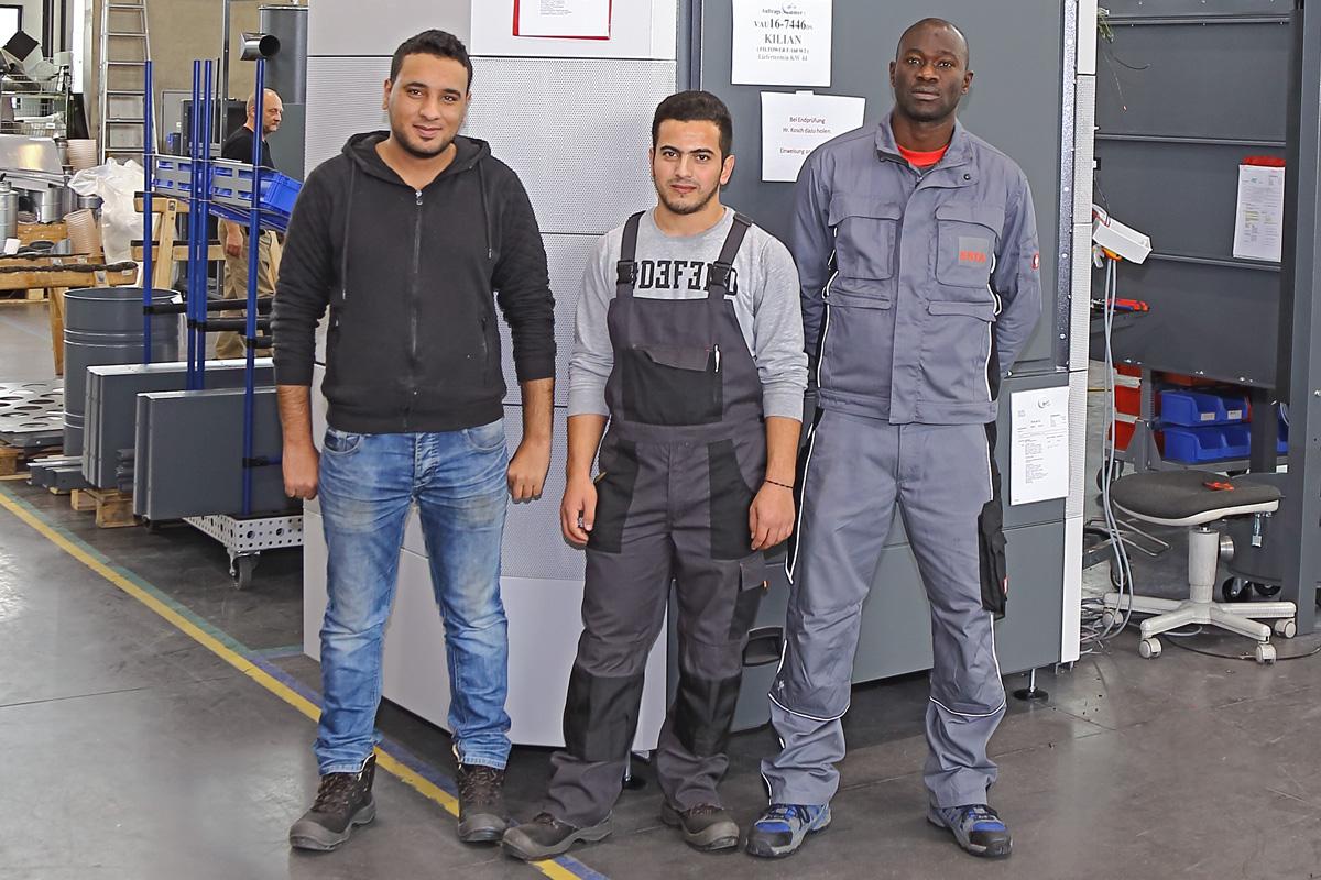 ESTA integriert Geflüchtete im Betrieb.