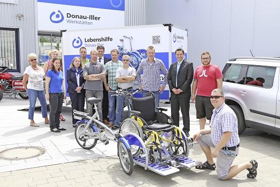 ESTA unterstützt die Werkstätten der Lebenshilfe Donau-Iller mit Spenden.