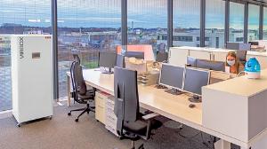 ESTA Luftreiniger VirBox in Büro