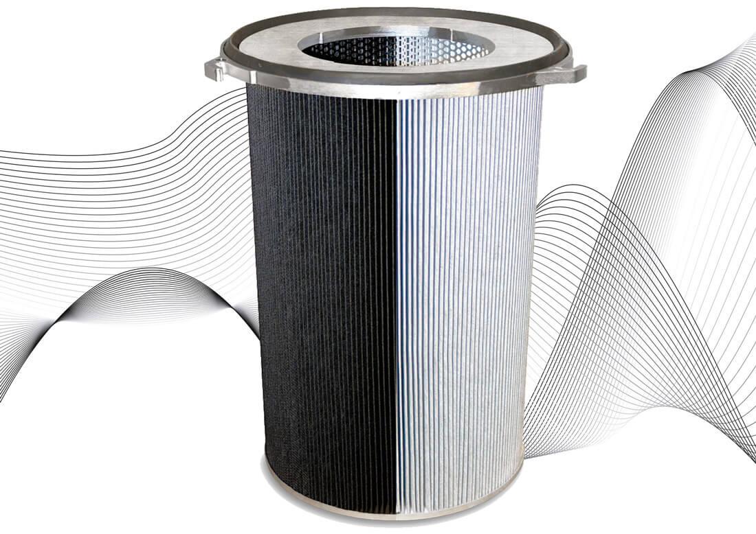 Die Filterpatrone von ESTA.