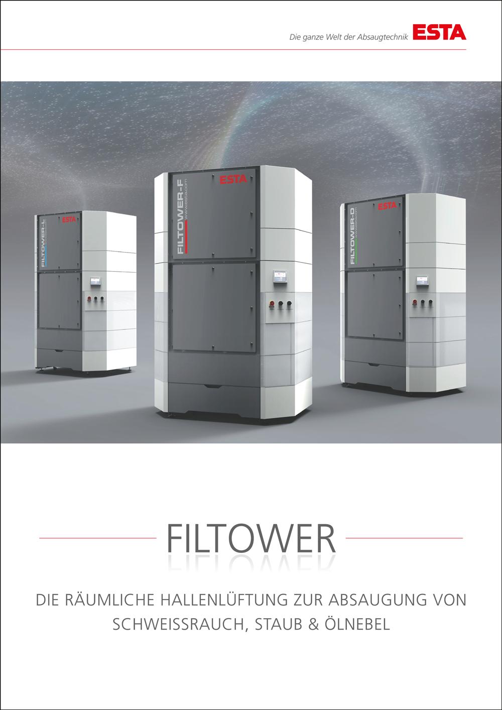 Der FILTOWER-Katalog.