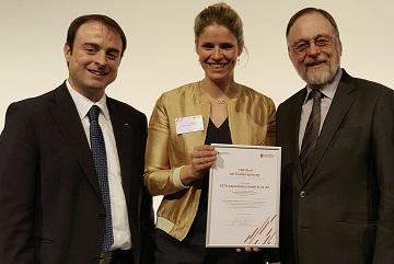 Alexander Kulitz und Dr. Peter Kulitz bei der CSR-Preisverleihung.