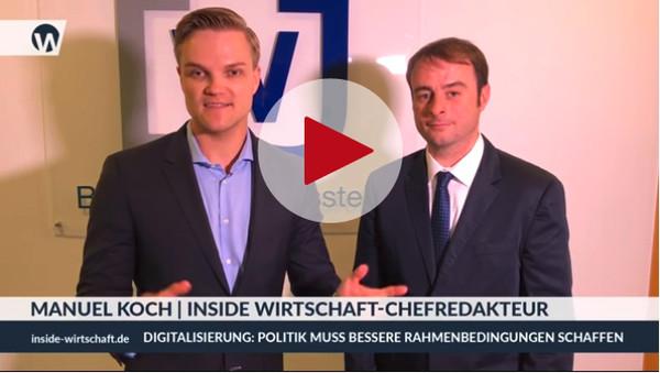 Alexander Kulitz im Interview mit Manuel Koch, dem INSIDE Wirtschaft-Chefredakteur.