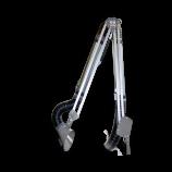 Absaugarm in ATEX-Ausführung mit ovaler Haube