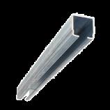 C-Profil 40 x 40 mm