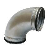 Formteile Bogen 90° grad mit Gummidichtung